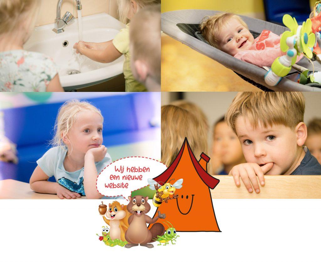 Nieuwe website - webdesign Kinderdagverblijf Villa Vrolijk